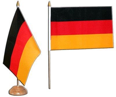 Flaggenfritze Tischflagge Tischfahne Deutschland - 15 x 22 cm