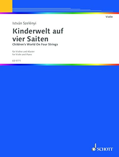 Kinderwelt auf vier Saiten: Violine und Klavier.