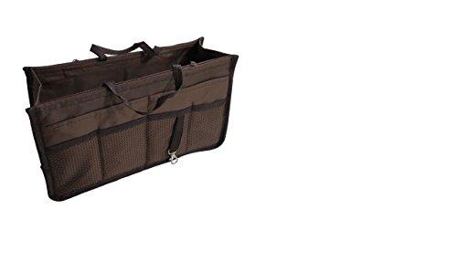 Organisieren - Tasche - Aufbewahrungstasche Innen fur Handtache Reisetasche - Farbe : braun