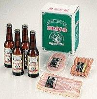 エチゴビール.ソーセージ詰め合わせギフト