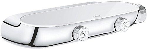 Grohe Grohtherm Smartcontrol Thermostatbatterie mit 2 Absperrventilen, auf-/Unterputz Kombination, 1 Stück, 34714000