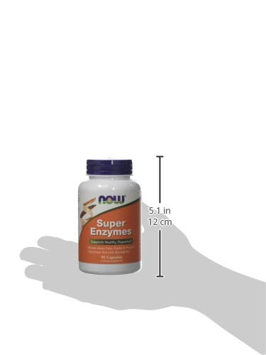 Now Super Enzymes Supports Healthy Digestion 90 Capsules