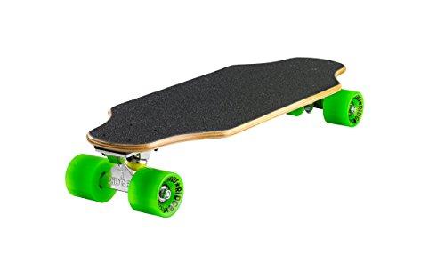 "Ridge Natural Range Twin Tip Skateboard, Unisex Adulto, Verde/marrón, 27"""