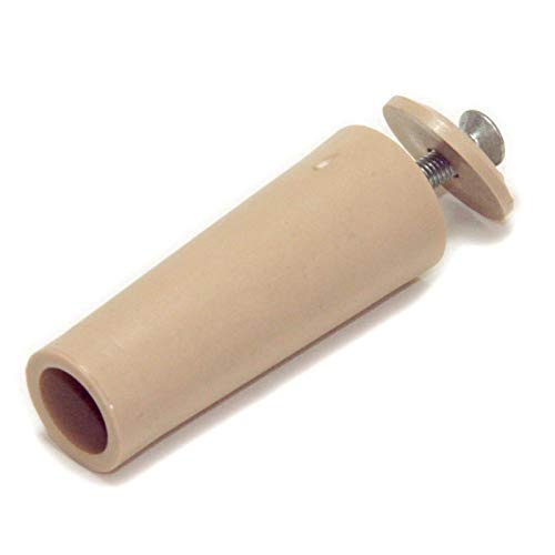 Rolatec - Tope para persiana (60 mm de largo, 10 unidades), color beige