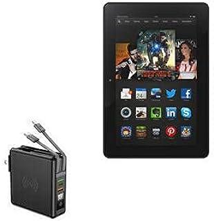 Carregador BoxWave para Kindle Fire HDX 8.9 (3ª geração 2013), [Carregador de parede sem fio Rejuva (10000mAh)] Carregador...