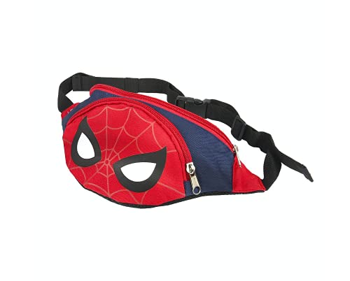 Spiderman Marsupio, Borsa per Bambino, Marsupio per Ragazzi, Design Leggero Regolabile, Regalo per Bambino
