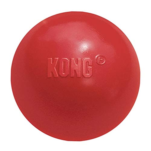 KONG - Ball with Hole - Durable Rubber, Fetch Toy - for Medium/Large Dogs