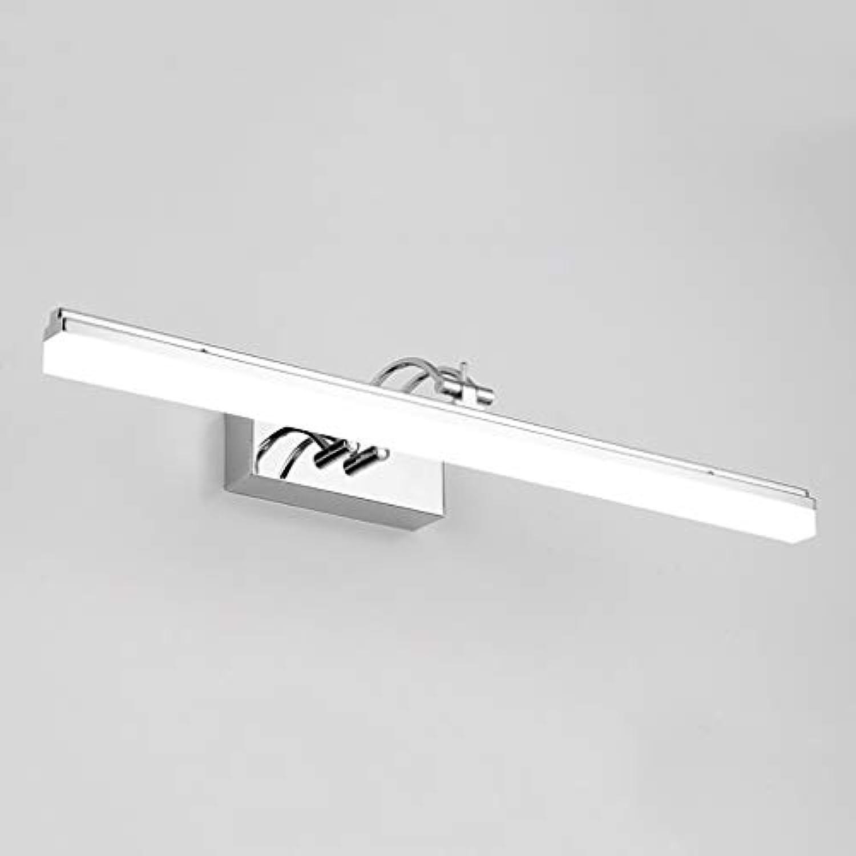 Spiegelleuchten LED Spiegel Scheinwerfer Badezimmer Wandleuchte Schminktisch Spiegel Schranklampe Wasserdichte Anti-Fog-Spiegel Lampe Lnge  39 49 59 69 cm. ( Farbe   Weies Licht , gre   49cm-12W )