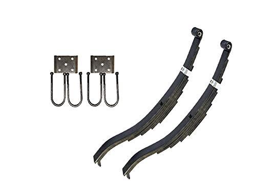 """Trailer Slipper Spring Suspension Kit for 3"""" Tube - 7000 lb Axles"""