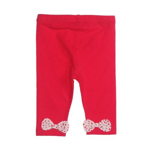 Pampolina Baby - Mädchen Hose 6363256, Gr. 80, Rot (2104)