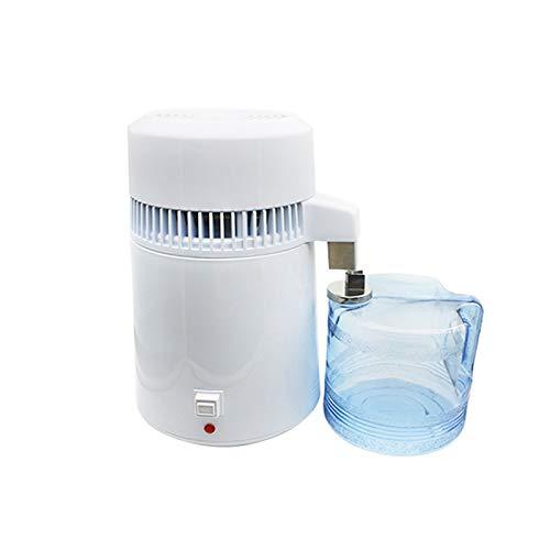 LSGMC Wasser Destilliergerät, 4L Reinwasserbrenner Edelstahl Haushalt Interne Destillierte Reinwassermaschine, 800W.