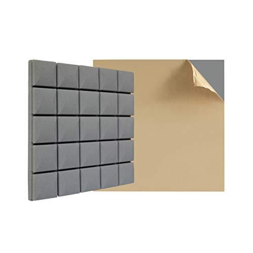 ZZYE geluidsabsorberend katoen, Studio akoestisch schuim panelen geluid isolatieschuim, akoestisch studio behandeling foam / 6 stuks