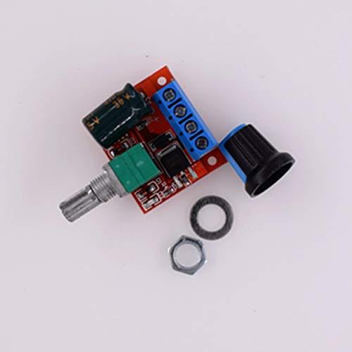 fengzong HW-687 PWM Gleichstrommotor Drehzahlregler 5V-25V Drehzahlregelung Schaltersteuerung 5A Schaltfunktion Kleines LED-Dimmmodul (Mehrfarbig)