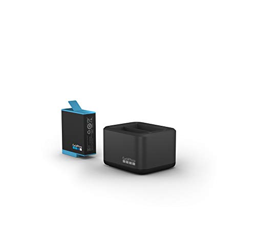 Dual Battery Charger + Battery (HERO10 Black/HERO9 Black) - Official GoPro Accessory (ADDBD-001)