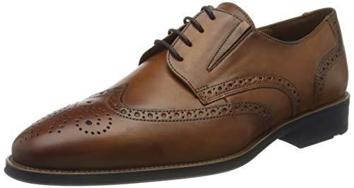 LLOYD Herren KEPHRON Uniform-Schuh, Cognac, 44.5 EU