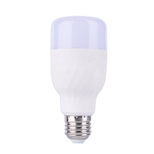 Smart WiFi lampadina, opere Starall dimmerabile lampadine LED RGB luce notturna B22/E27a vite per Amazon ALEXA, Google Home, White, E27 7.00watts
