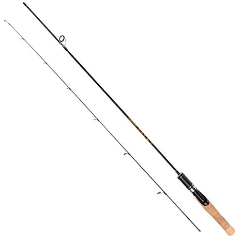 BMYONG UL Fuente de Casting/Pesca Spinning Rods Suave Carbono sólido Hilado señuelo de la caña de Pescar 1.8m 1.98m 1.68m (Color : Spinning Rod, Length : 1.8m)