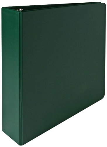 Sparco 3-Ring Binder, 2-Inch Capacity, 11 x 8-1/2 Inches, Green (SPR03504)