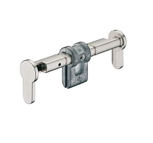 JUVA Blindzylinder montieren Blind-Schließzylinder Montage Einsteck-Zylinder einbauen - H6152 | Zink vernickelt matt | für Türdicken 35–154 mm | 1 Stück