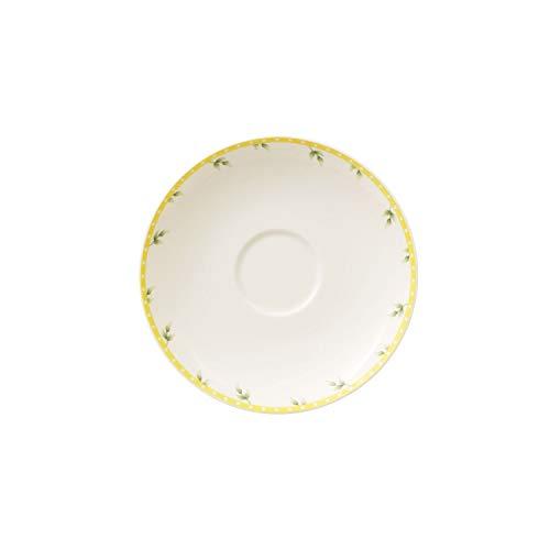 Villeroy und Boch Spring Awakening Untertasse, 14 cm, Premium Porzellan, Gelb/Bunt