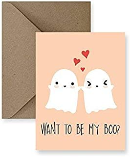 Want to be my Boo Halloween Greeting Card