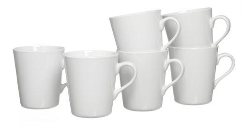 Ritzenhoff & Breker Kaffeebecher-Set Primo, 6-teilig, Porzellan