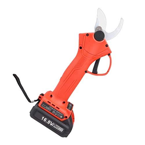 N/A Sécateur électrique sans Fil, Outils de Jardinage portatifs, diamètre de Coupe 30 mm, 16,8 V / 21 V, Batterie * 2, 5-6 Heures de Travail, sécateur électrique de sécurité Anti-Coupure.