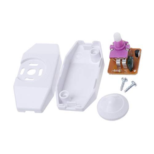 ZChun dimmerschakelaar tafel-/bureaulampknop licht instellen dimbare accessoires 7x3.3cm wit