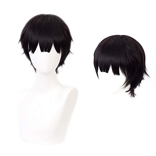 OSIAS Anime Cosplay Toilet-Bound Hanako-kun Perücke, mit Kostenloser Haarnetz (Yugi Amane Perücke)