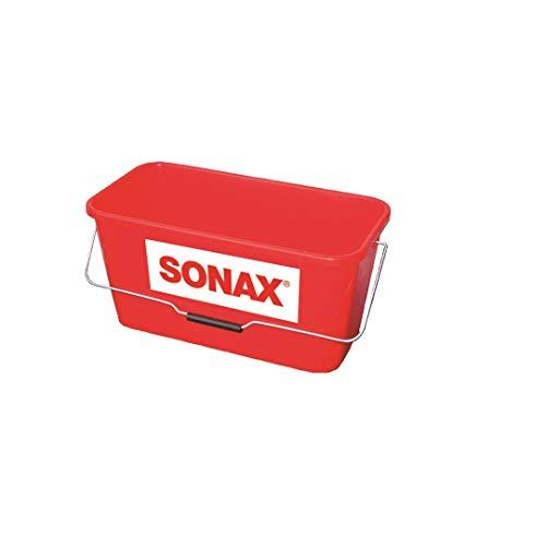 SONAX Eimer für PFA-Wagen (1 Stück) praktischer, rechteckiger Eimer mit stabilem Bügel |Art-Nr. 04958000
