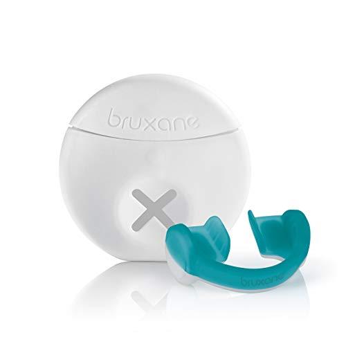 bruXane 2go intelligente Zahnschiene | Aufbissschiene mit Biofeedback zur Behandlung von Zähneknirschen | zum Schutz der Zähne [Tragedauer ca. 2 Monate, Knirschschiene für die Nacht]
