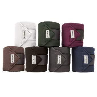 KAVALKADE Fleece-Bandagen, W, bordeaux, bordeaux, Warmblut