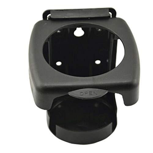 Serria® Flaschenhalter for Auto LKW, SUV, Boot, Wohnmobil, Van, Traktor Schwarz Universal ABS Auto Halterung Getränkeflasche Getränkehalter Rack