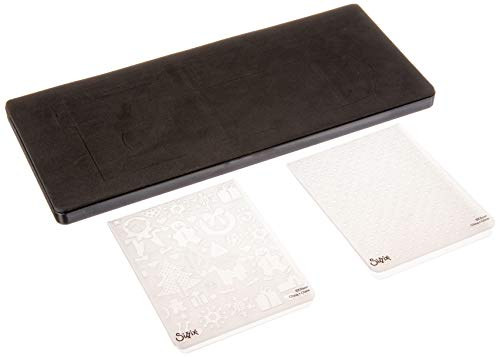 Sizzix Bigz XL with Bonus Textured Impressions Embossing Folders - Gift Card Holder and Snow Village Set