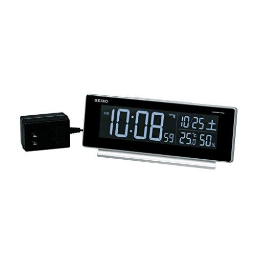 セイコークロック セイコーC3 電波 置き時計 シルバー DL207S 1個