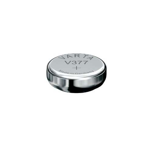 VARTA Uhr V377 - Silberoxid-Batterie (SR66, 1,55 V)