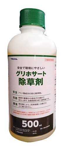 トライアルカンパニー グリホサート除草剤 500ml 1箱(50本入)