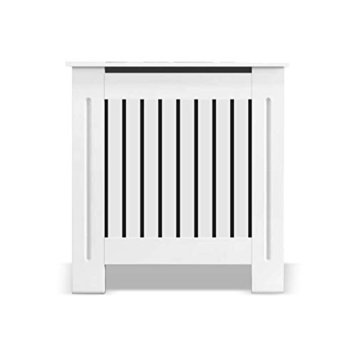 Radiator Cover White | Radiator Cover Small Medium Large | Tall Radiator Covers | Modern Home Cabinet Living Room Furniture MDF Wooden Heating Storage Extra Slimline Grill Painted 90cm Hallway Covers