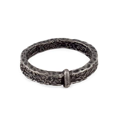 Celtic Knot Wedding Ring Outlander Stainless Steel Prop Accessory (Size 6.5)