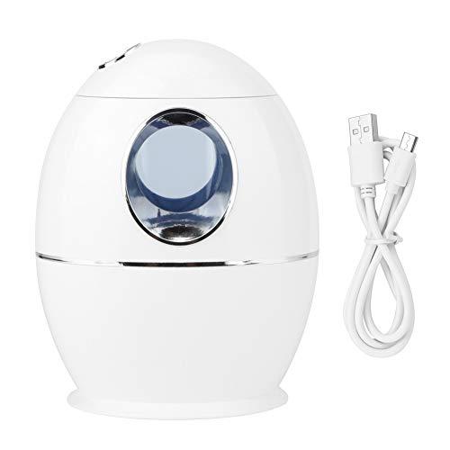 Humidificador USB, 800ML Mini purificador de humidificador de aire portátil Hidratante Fabricante de niebla para uso de escritorio en el hogar con luces para dormir en el dormitorio de la oficina en e