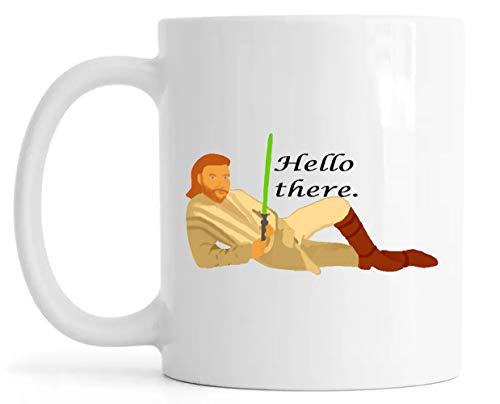 Hello There General Lustroso Cerámica Taza Mug Glossy Mug Cup