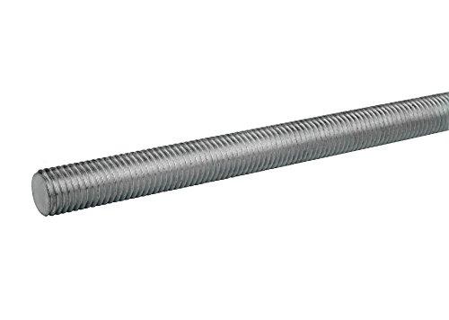 316 Stainless Steel Fully Threaded Rod, 1/2