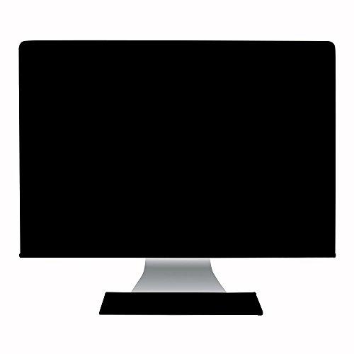 """Hermitshell El polvo y la cubierta resistente al agua como la seda antiestático con forro de terciopelo suave caja cubrir Apple iMac monitor y teclado para iMac Pro 27"""" Color: Negro"""