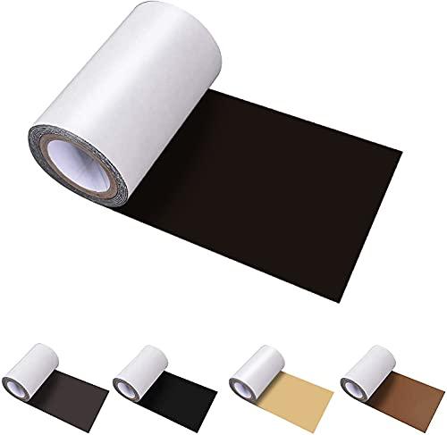 Patch de reparo de couro Numola, autoadesivo para sofás, assento de carro de motorista, sofá, bolsas, jaquetas, Dark Brown, 4X60 inch, 1
