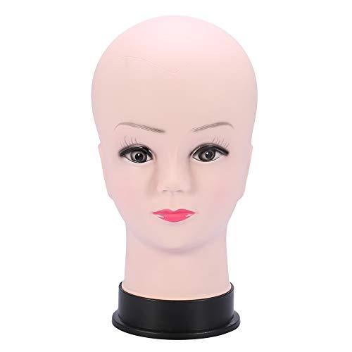 Männchen Kopf,Dekaim weibliche Perücke Styling Traning Mannequin Kopf Display Männchen Modell für die Perückenherstellung