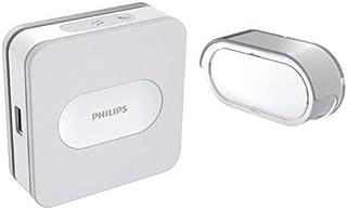 Philips DES7900DCH/10 Kit de - Timbre (Gris, Blanco, IP65, CE, RoHS, Reach, Inalámbrico, 433 MHz, 300 m)