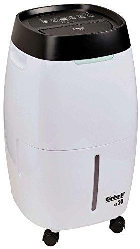 Einhell Luftentfeuchter LE 20 (350 W, 9-stufig. Feuchtigkeitsregler, 2-stufiger Lüfter, 4 Liter Kondensatbehälter, Timer, LED-Display)
