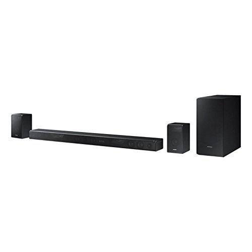 Samsung HW-K950 5.1 Channels 500 W Black Soundbar Speakers, 500 W, DTS 2.0, Dolby Digital Plus, Dolby TrueHD, Separate, 43 W, 2.8 W