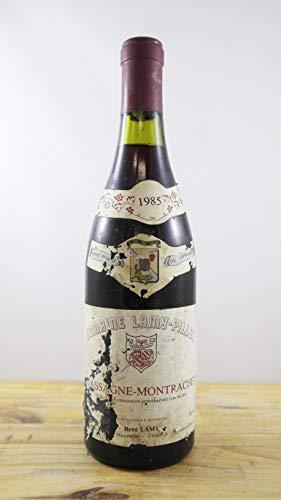 Vino Cosecha 1985 Chassagne-Montrachet Domaine Lamy-Pillot Botella