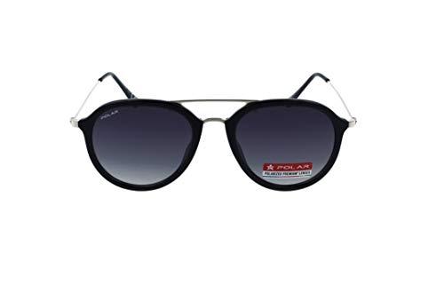 Preisvergleich Produktbild Polar 665 77 Sonnenbrille,  Schwarz glänzend / goldfarben